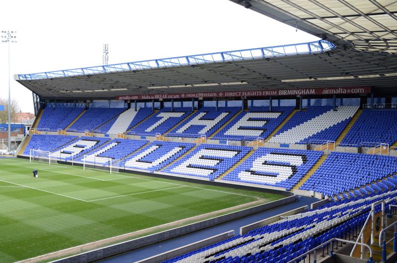 Stadion von Birmingham City FC