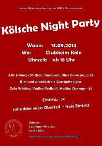 Kölsche Night Party